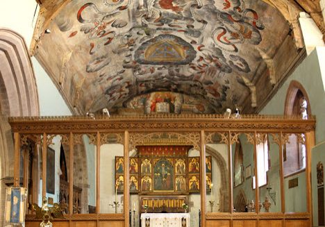 ChurchImages-Shrops-Bromfield-StMarytheVirgin-interior